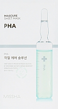 Parfémy, Parfumerie, kosmetika Pleťová peeling maska - Missha Peeling Solution Sheet Mask
