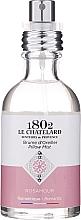 Parfémy, Parfumerie, kosmetika Aromatický sprej na prádlo Růže - Le Chatelard 1802