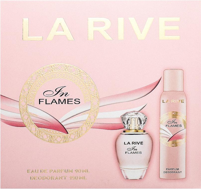 La Rive In Flames - Sada (edp/90ml+deo/150ml)