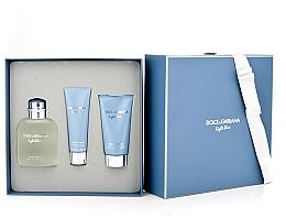 Dolce & Gabbana Light Blue pour Homme - Sada (edt 125 + sh/g 50 + a/sh balm 75) — foto N6