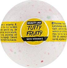 Parfémy, Parfumerie, kosmetika Kopelová bomba s vitamínem E - Beauty Jar Tutty Fruity