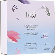 Parfémy, Parfumerie, kosmetika Sada - Hagi Natural Face Care Anti-aging Set (cr/30ml + elixir/30ml)