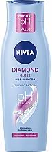 """Parfémy, Parfumerie, kosmetika Šampon """"Oslepující diamant"""" s keratinem - Nivea Hair Care Diamond Gloss Shampoo"""