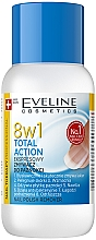 Parfémy, Parfumerie, kosmetika Prostředek pro odstranění laku na nehty 8in1 - Eveline Cosmetics Nail Therapy Professional