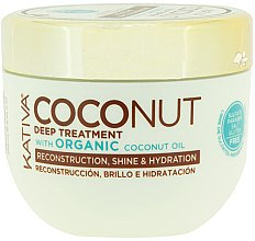 Parfémy, Parfumerie, kosmetika Regenerující maska na vlasy - Kativa Coconut Oil Mask