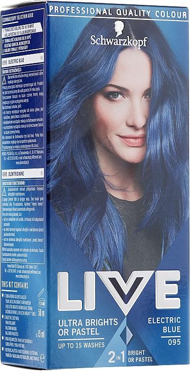 Barvící krém na vlasy - Schwarzkopf Live Ultra Brights or Pastel