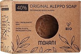 Parfémy, Parfumerie, kosmetika Aleppo mýdlo s vavřínovým olejem 40% - Mohani Original Aleppo Soap 40%