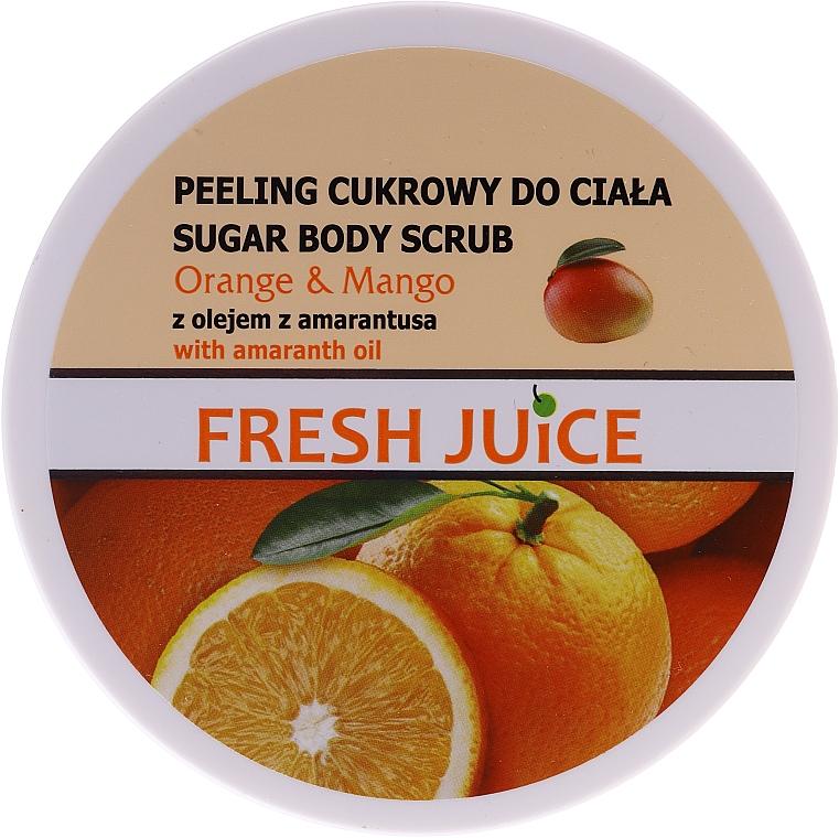 Cukrový tělový peeling - Fresh Juice Orange and Mango — foto N1