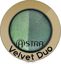 Parfémy, Parfumerie, kosmetika Oční stíny - Astra Make-up Velvet Duo Eyeshadow