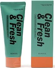 Parfémy, Parfumerie, kosmetika Čisticí pleťová pěna pro stažení pórů - Eunyul Clean & Fresh Pore Tightening Foam Cleanser
