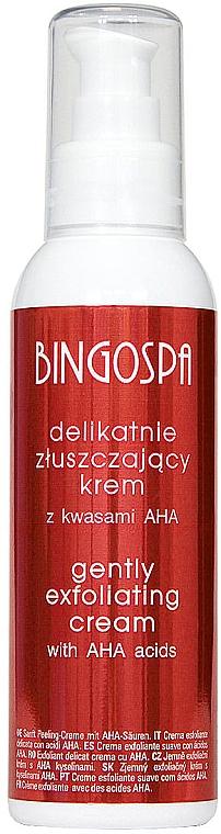 Jemně exfoliační krém s AHA kyselinami - BingoSpa