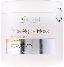 Parfémy, Parfumerie, kosmetika Alginátová maska na obličej s koloidním zlatem - Bielenda Professional Face Algae Mask