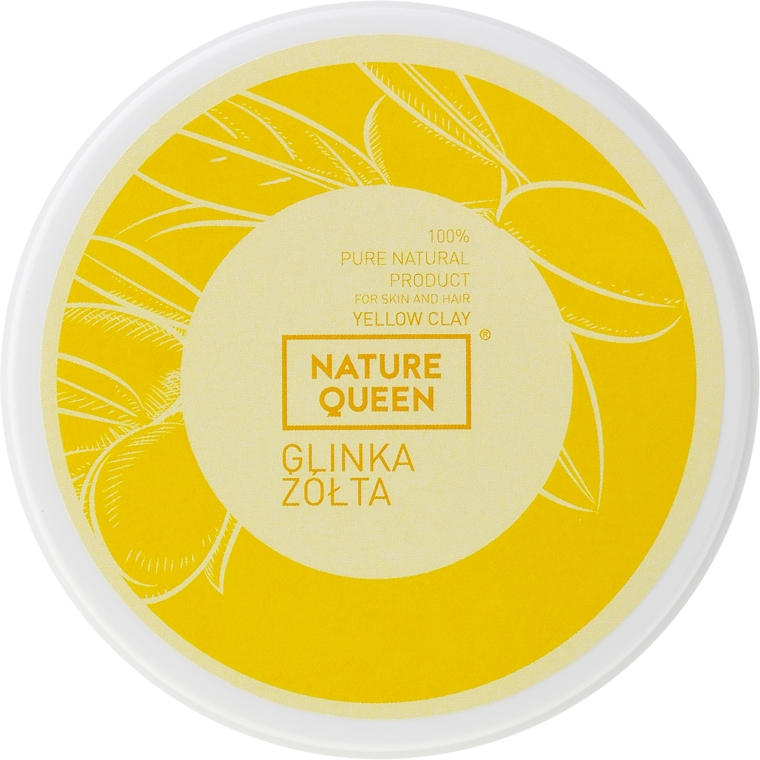 Obličejové masky se žlutým jílem - Nature Queen Yellow Clay — foto N4