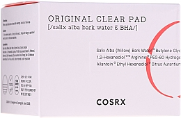 Parfémy, Parfumerie, kosmetika Čisticí tampony s BHA-kyselinami - Cosrx One Step Original Clear Pads