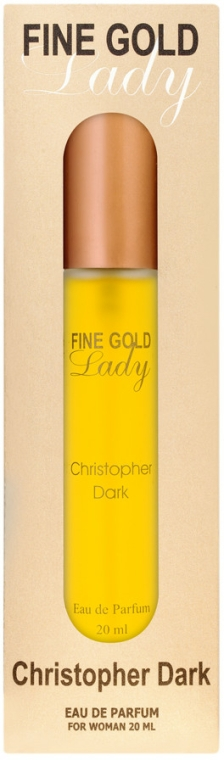 Christopher Dark Fine Gold Lady - Parfémovaná voda (mini)