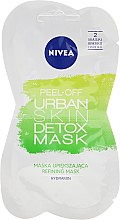 Parfémy, Parfumerie, kosmetika Fóliová maska na obličej - Nivea Urban Skin Peel Off Detox Mask