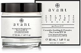 Parfémy, Parfumerie, kosmetika Zklidňující a ochranný denní krém - Avant Skincare Ceramides SPF20 Soothing and Protective Day Cream