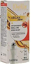 Parfémy, Parfumerie, kosmetika Kuličkový gel s arganovým olejem pro pleť kolem očí - Delia Argan Care Under Eye Roll-On Wrinkles Smoother