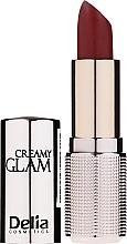 Parfémy, Parfumerie, kosmetika Rtěnka - Delia Creamy Glam