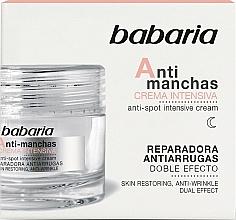 Parfémy, Parfumerie, kosmetika Intenzivní pleťový krém proti pigmentovým skvrnám - Babaria Anti-Dark Spot Intensive Cream