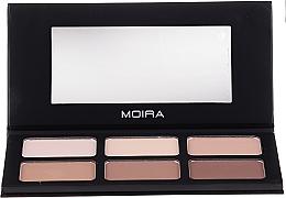 Parfémy, Parfumerie, kosmetika Konturovací paletka - Moira Highlight & Contour Palette