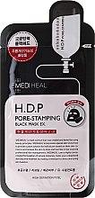 Parfémy, Parfumerie, kosmetika Tkáňová maska - Mediheal H.D.P. Pore-Stamping Black Mask EX