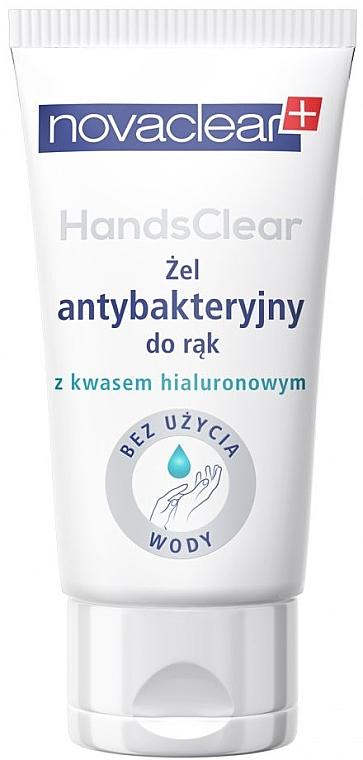 Antibakteriální gel na ruce s kyselinou hyaluronovou (tuba) - Novaclear Hands Clear