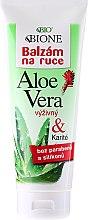 Parfémy, Parfumerie, kosmetika Balzám na ruce hydratační - Bione Cosmetics Aloe Vera Nourishing Hand Ointment With Collagen
