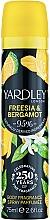 Parfémy, Parfumerie, kosmetika Yardley Freesia & Bergamot - Deodorant