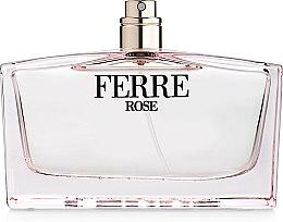 Parfémy, Parfumerie, kosmetika Gianfranco Ferre Ferre Rose - Toaletní voda (tester bez víčka)