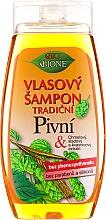 """Parfémy, Parfumerie, kosmetika Šampon na vlasy """"Pivný"""" - Bione Cosmetics Traditional Beer Hair Shampoo"""