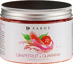 Parfémy, Parfumerie, kosmetika Cukrový tělový peeling - Kabos Grapefruit & Guarana Sugar Peeling
