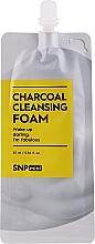 Parfémy, Parfumerie, kosmetika Čisticí pleťová pěna s bambusovým uhlím - SNP Mini Carcoal Cleansing Foam (mini)