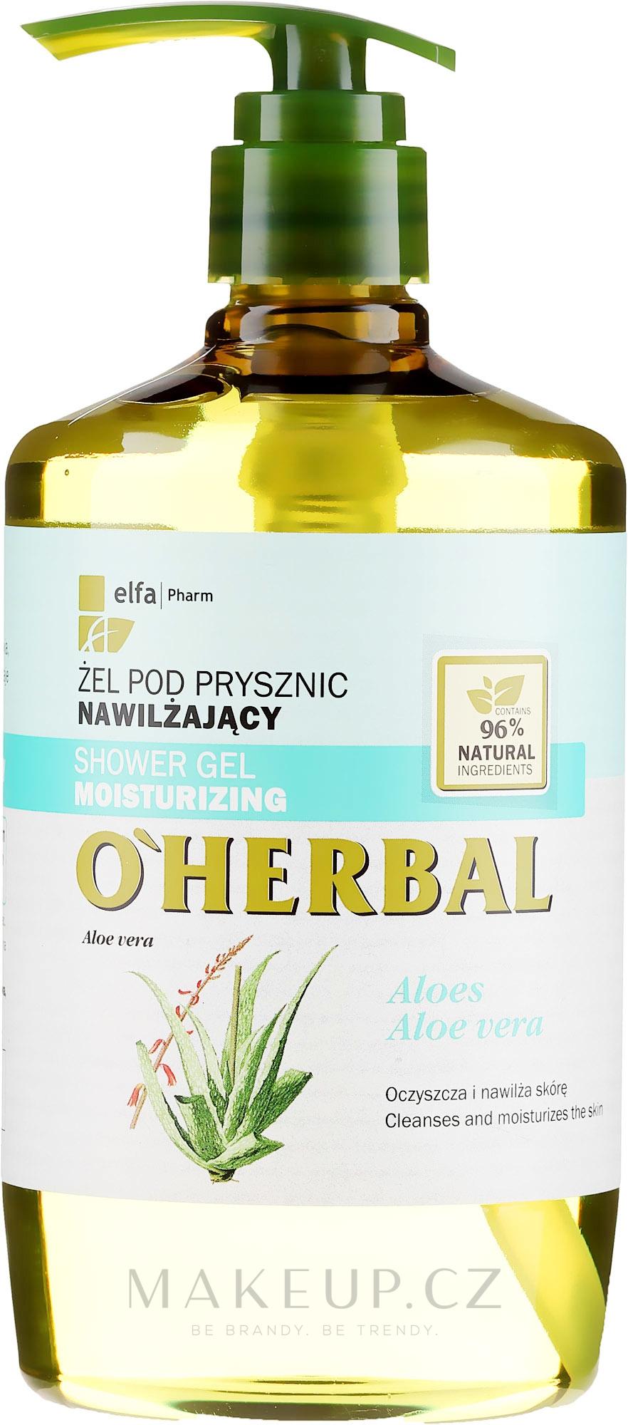 Hydratační sprchový gel s extraktem aloe vera - O'Herbal Moisturizing Shower Gel — foto 750 ml