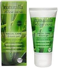 Parfémy, Parfumerie, kosmetika Krém-gel na obličej - Naturalia Aloe Vera Facial Care Cream-Gel