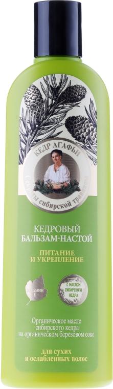 Infuzní cedrový balzám Výživa a posílení - Recepty babičky Agafyy