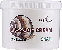 Parfémy, Parfumerie, kosmetika Masážní krém na obličej a tělo - Hristina Cosmetics Massage Snail Cream