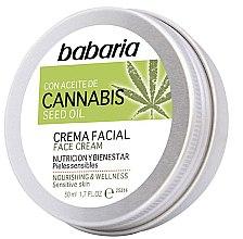 Parfémy, Parfumerie, kosmetika Krém na obličej - Babaria Cannabis Seed Oil Face Cream