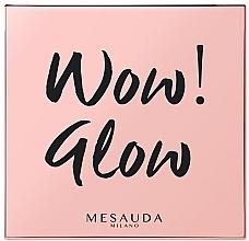 Parfémy, Parfumerie, kosmetika Rozjasňovač na obličej - Mesauda Milano Wow! Glow Highlighters