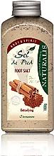Parfémy, Parfumerie, kosmetika Koupelová sůl na nohy - Naturalis Sep de Pied Cinnamon Foot Salt