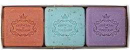 Parfémy, Parfumerie, kosmetika Sada - Essencias De Portugal Aromas Collection Spring Set (soap/3x80g)
