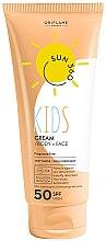 Parfémy, Parfumerie, kosmetika Dětský opalovací krém na obličej a tělo - Oriflame Sun 360 Kids Cream SPF 50