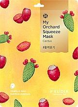 Parfémy, Parfumerie, kosmetika Vitalizující látková maska s kaktusy - Fruida My Orchard Squeeze Mask Cactus