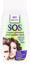 Parfémy, Parfumerie, kosmetika Šampon proti vypadávání vlasů - Bione Cosmetics SOS Shampoo with Anti Hair Loss Ingredients