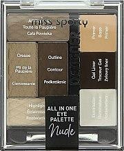 Parfémy, Parfumerie, kosmetika Paleta pro líčení očí - Miss Sporty Designer All In One Eye Palette