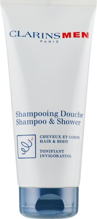 Tonizující šampon na tělo a vlasy - Clarins Men Shampoo & Shower — foto N2