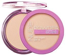 Parfémy, Parfumerie, kosmetika Pudr na obličej - Gabriella Salvete Nude Powder SPF15