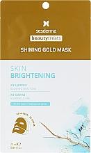 Parfémy, Parfumerie, kosmetika Zlatá pleťová maska - SesDerma Laboratories Beauty Treats Shining Gold Mask