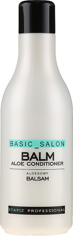 Balzám na vlasy - Stapiz Professional Basic Salon Aloe Conditioner Balm