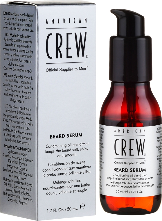 Sérum pro vousy - American Crew Official Supplier to Men Beard Serum